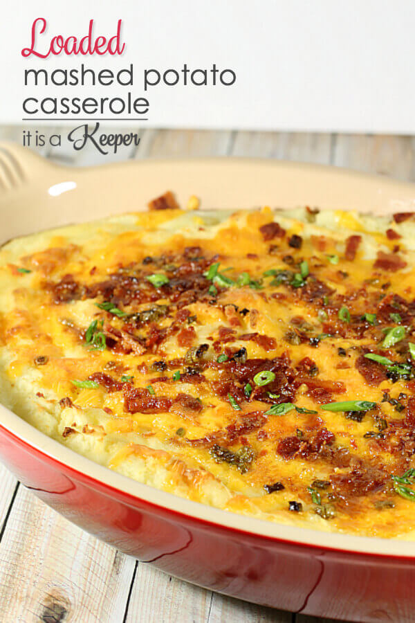 Super Easy Recipes Mashed Potato Casserole