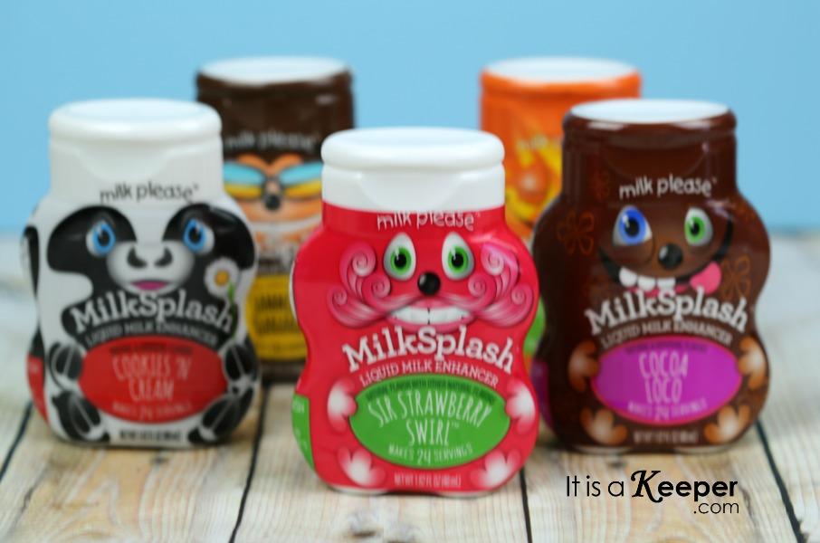 MilkSplash 2 - It Is a Keeper CONTENT