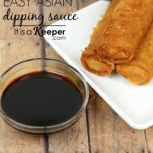 Easy Asian Dipping Sauce - It Is a Keeper