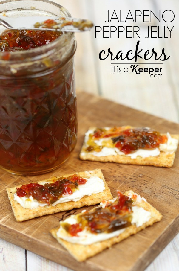 Easy Cold Appetizer Recipes Jalapeño Pepper Jelly Crackers - It Is a Keeper