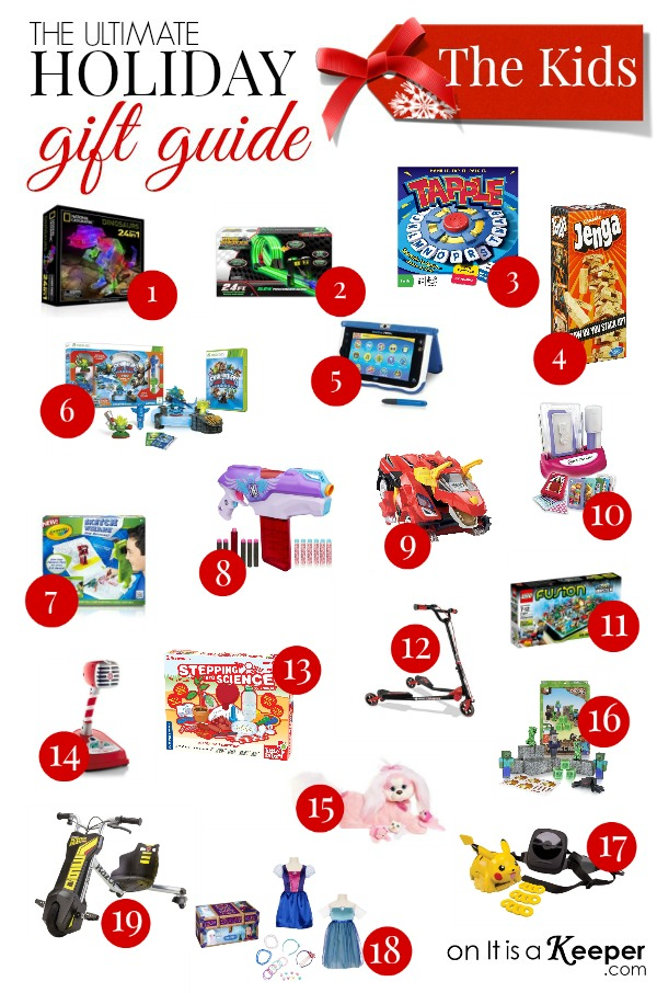 Holiday Gift Guide The Best Gifts for Kids - It Is a Keeper