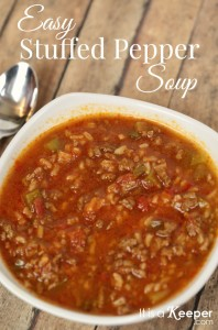 Soup Recipe Ideas Easy Stuffed Pepper Soup - It Is a Keeper