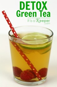 Raspberry Lime Detox Green Tea - It Is a Keeper