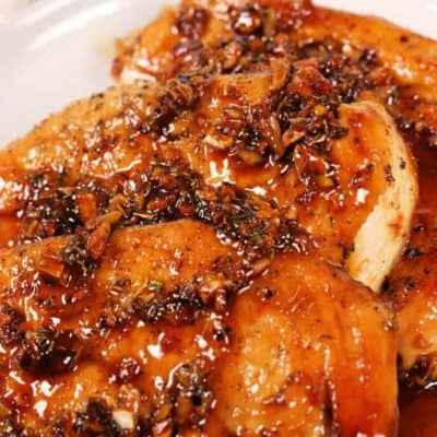 Garlic Honey Glazed Chicken