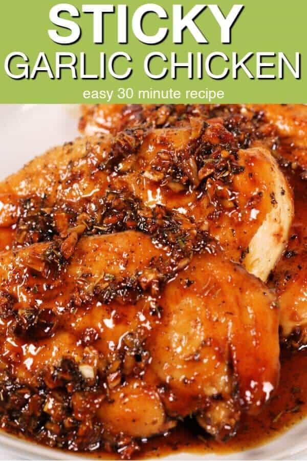 Garlic Honey Glazed Chicken It Is A Keeper