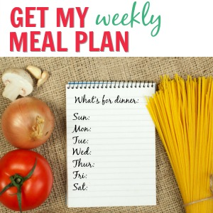{WK 84} Meal Planning: Weekly Easy Recipes