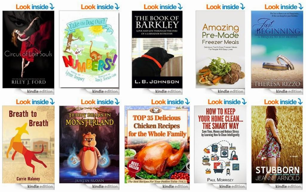 Free E-Books for Kindles