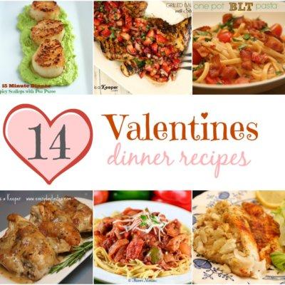 14 Valentines Dinner Recipes