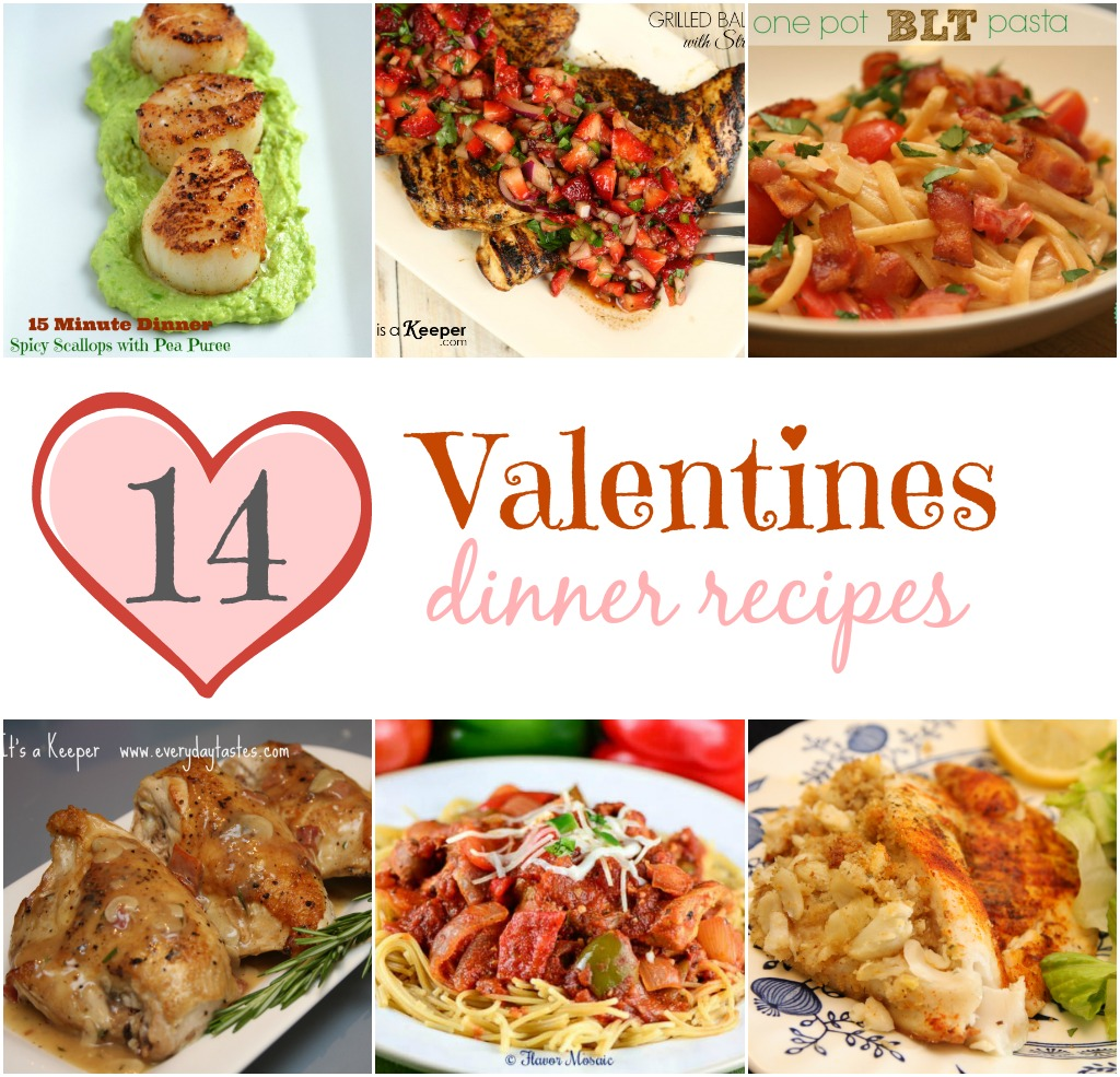 14 valentines dinner recipes it is a keeper for Simple valentines day dinner
