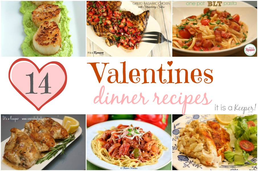 14 valentines dinner recipes - Easy Valentine Dinner Recipes