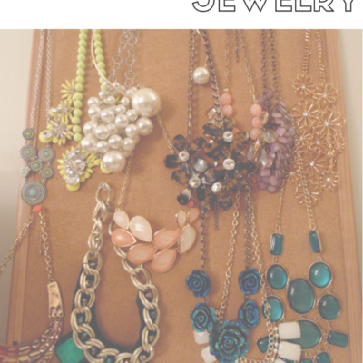 Bedroom Organizing Ideas: Organizing Jewelry