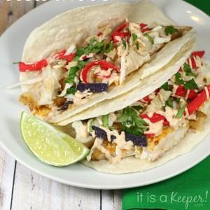 Fish Dinner Recipes Easy Baja Fish Tacos - It Is a Keeper