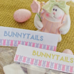 Free Printable Bunnytails Bag Topper