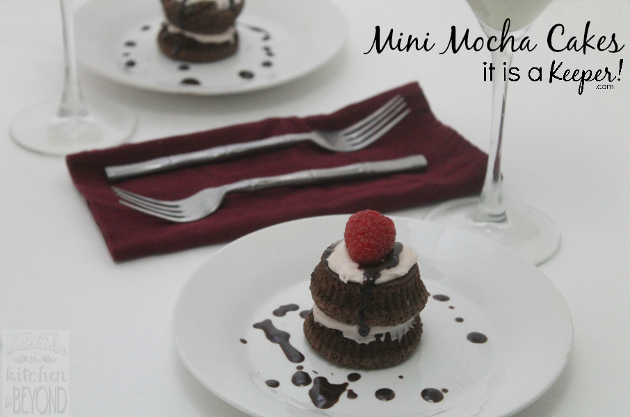 Mini Mocha Cakes CONTENT - It Is a Keeper