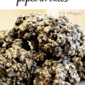 Oreo Popcorn Balls - It Is a keeper