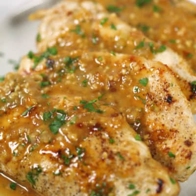Skillet Ginger Chicken