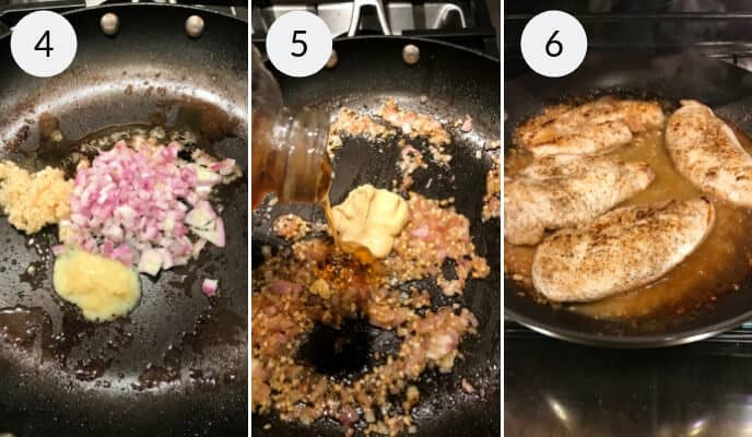 step by step instructions for making ginger chicken