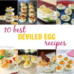 10 Best Deviled Egg Recipes - these deviled eggs are unique and over-the-top