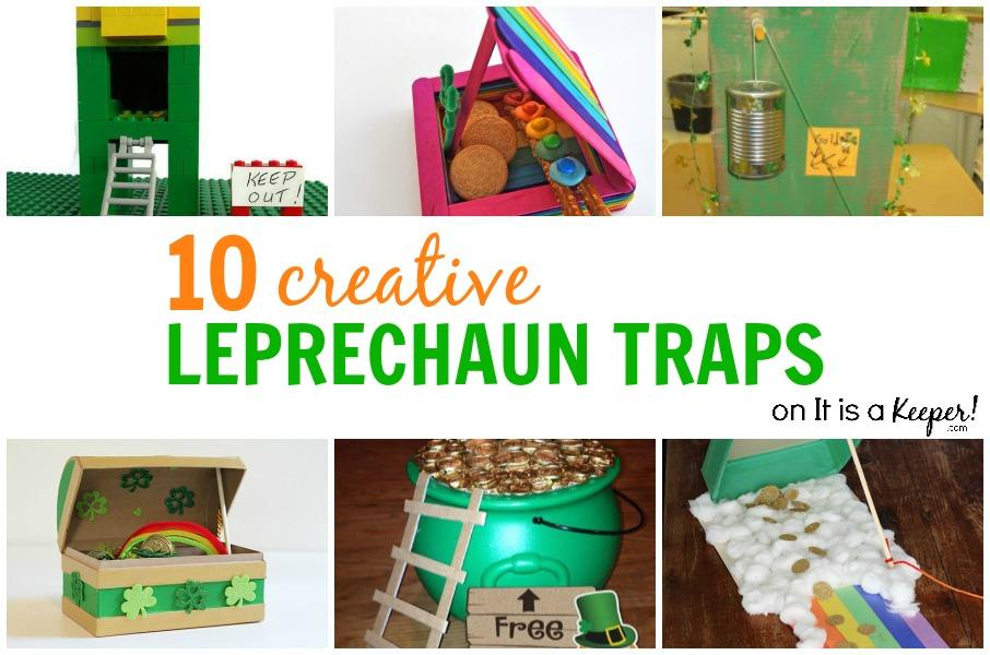 10 Creative Leprechaun Traps - It Is a Keeper