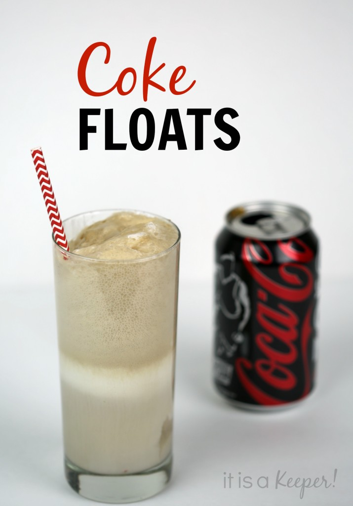 Coke Floats - It is a Keeper