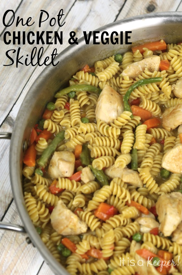 Dinner Recipes Quick Easy Chicken Veggie Skillet
