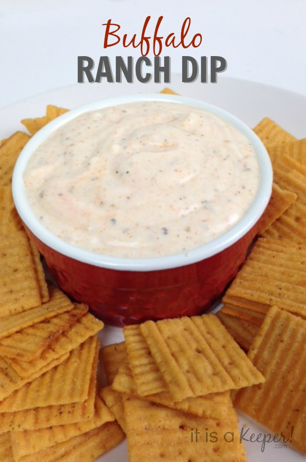 Easy Buffalo Ranch Dip - It Is a Keeper