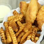 Crab Fries and Fish Basket