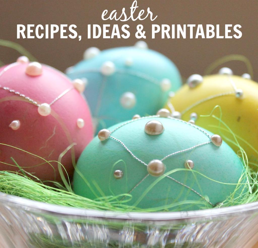 Easter Recipes & Ideas