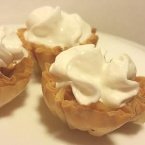 Mini Filo Apple Pie Bites