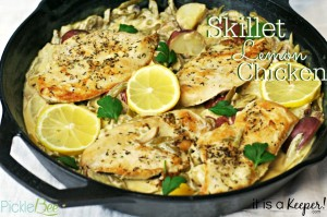 Skillet Lemon Chicken CONTENT - It Is A Keeper