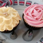Spring Flower Cupcakes with tips