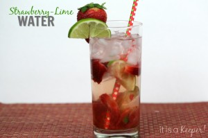 Strawberry Lime Water - It Is a Keeperq