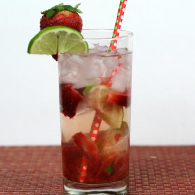 Strawberry Lime Water