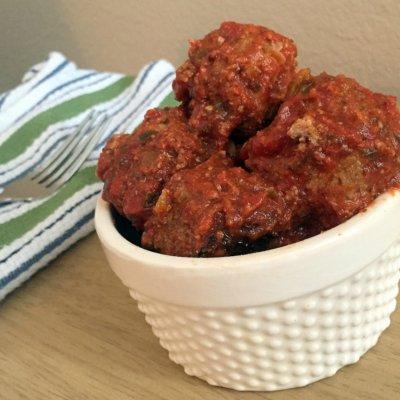 Slow Cooker Spicy Meatballs