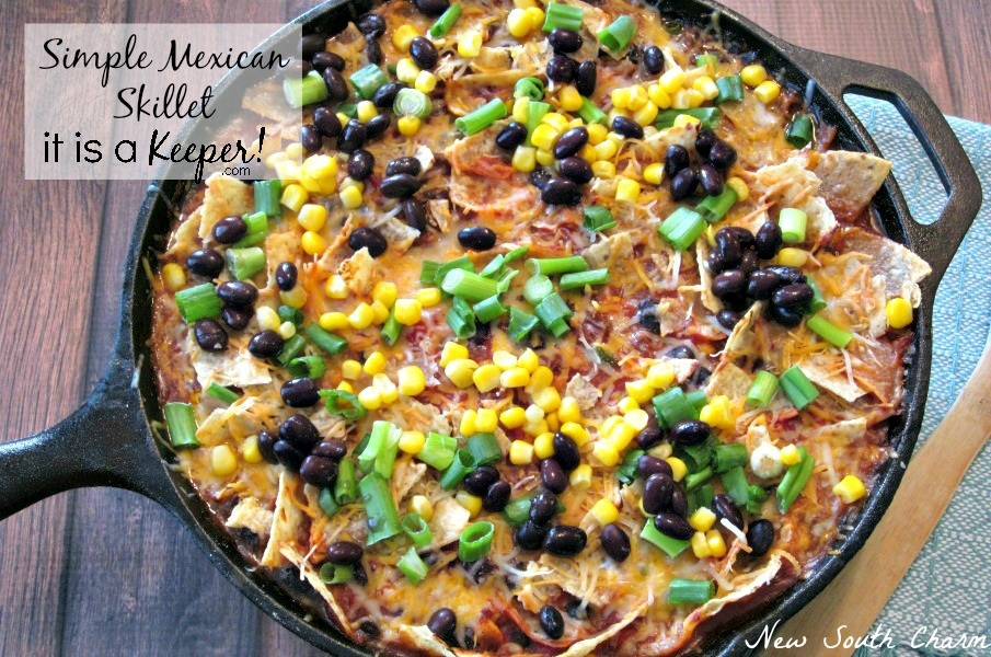 Simple Mexican Skillet CONTENT