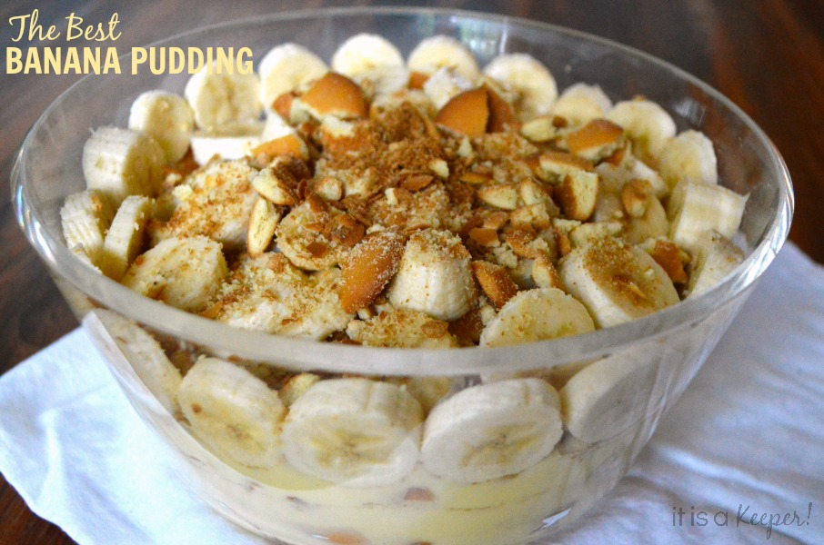 The Best Banana Pudding - It Is a Keeper H