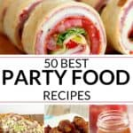 Collection of Party Food Recipes