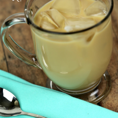Easy Caramel Iced Coffee
