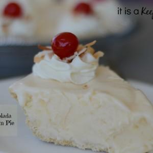 Pina Colada Ice Cream Pie Its a Keeper