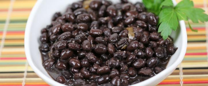 Restaurant Style Black Beans