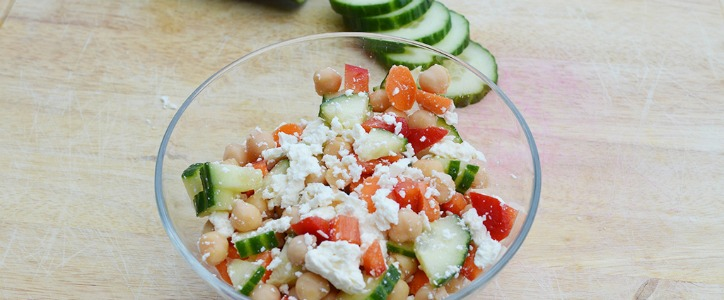 Spring Chickpea Salad