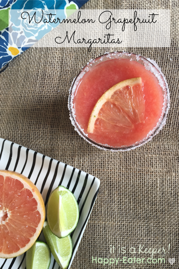 watermelon grapefruit margarita HERO - it is a keeper