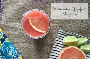 watermelon grapefruit margaritas CONTENT - it is a keeper