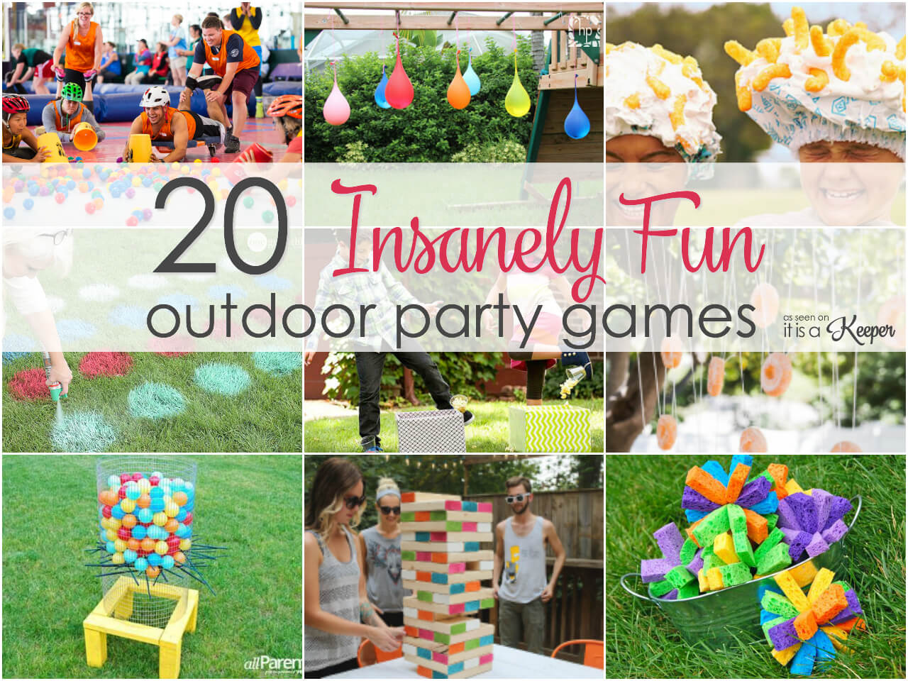 Outdoor Party Games - 20 insanely fun games for your next ...