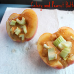 Celery and Peanut Butter Apples