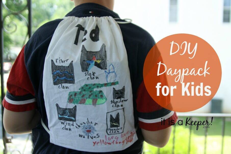 DIY DayPack for Kids CONTENT - It is a Keeper