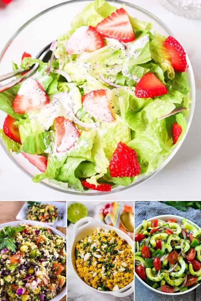 Four salad ideas for dinner
