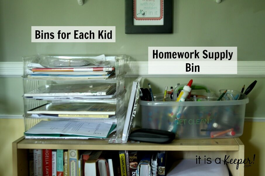 6 Sure Fire Organizing Tasks to Do Immediately for Back to School SUPPORTING - It is a Keeper
