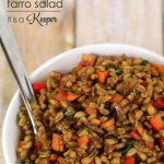 Wheat Berry Farro Salad