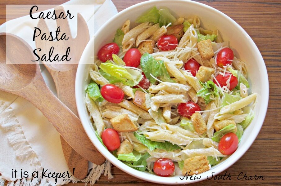 Caesar Pasta Salad Hero